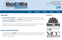 HighEdWeb Regional: Rochester site thumbnail